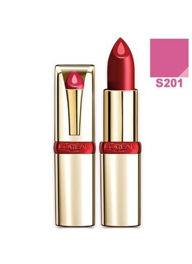 L'Oréal Paris Color Riche Serum Lipstick. Shade: S201 Renkli